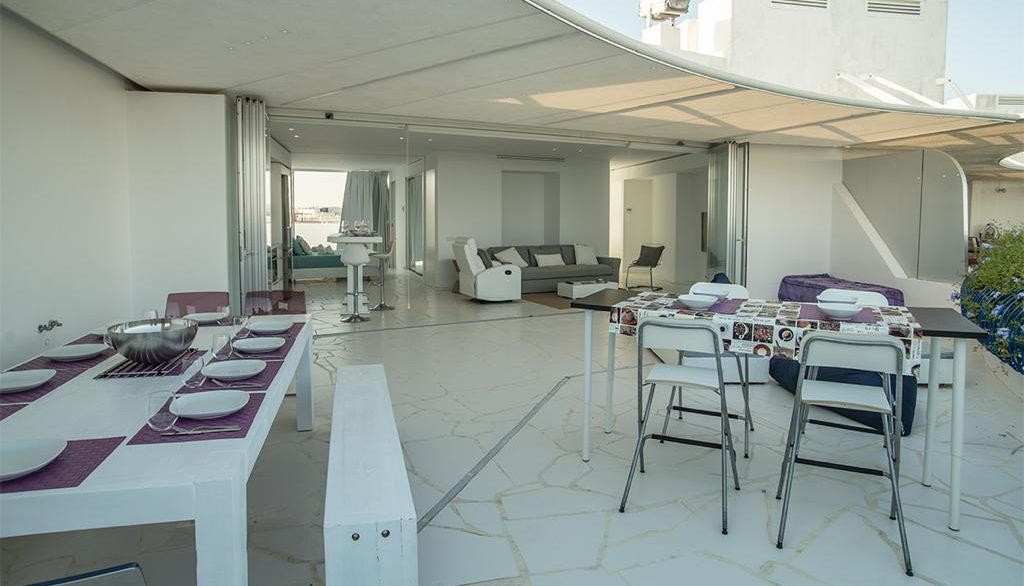 Penthouse in luxury building Las Boas in Marina Botafoch - for sale -1