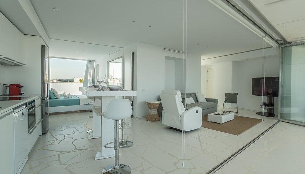 Penthouse in luxury building Las Boas in Marina Botafoch - for sale -5