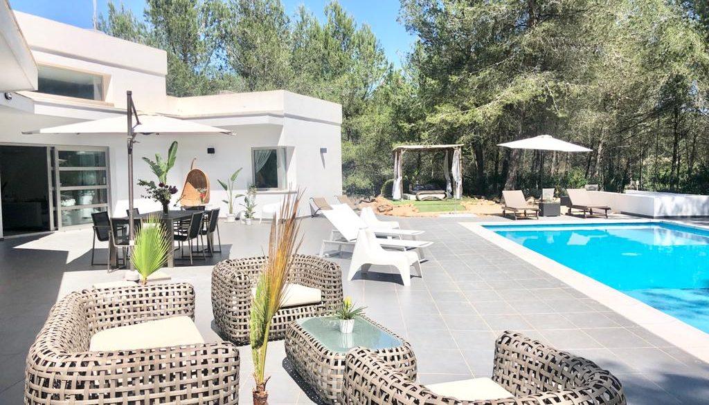 Villa Drago 35 Santa Gertrudis ibiza